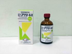 アクリノール 液 販売 中止 代替